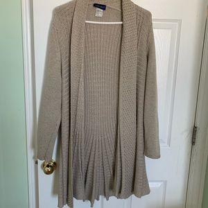 Classy quality women's XL sweater cardigan